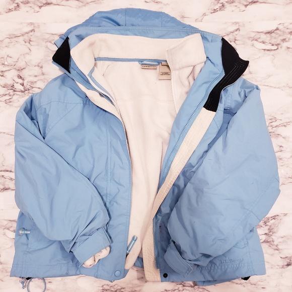 Ll bean 3 in 1 jacket